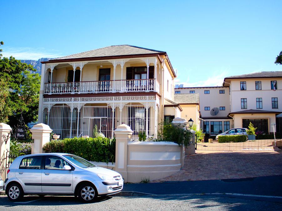Front of Villa Maria